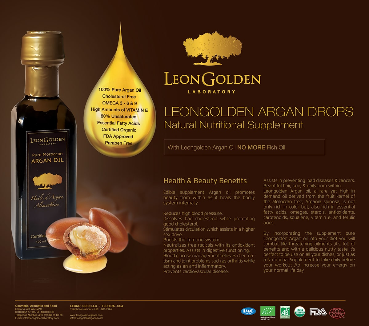 Poster-LeonGolden-culinary-pure-argan-oil